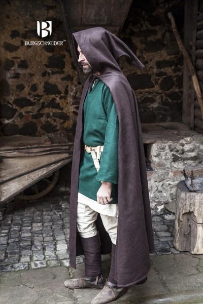 Mittelalter Kapuzenumhang Hibernus