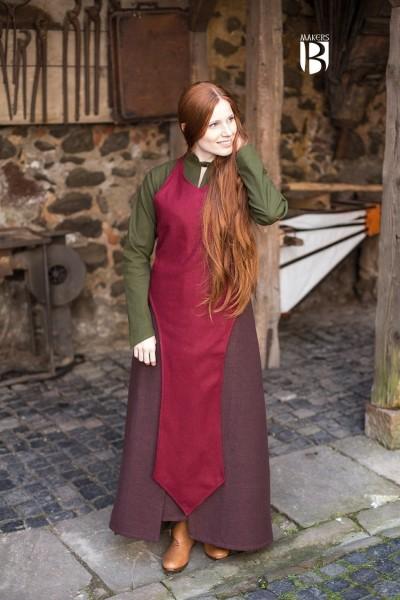Mittelalter Schürze Asua- Wolle