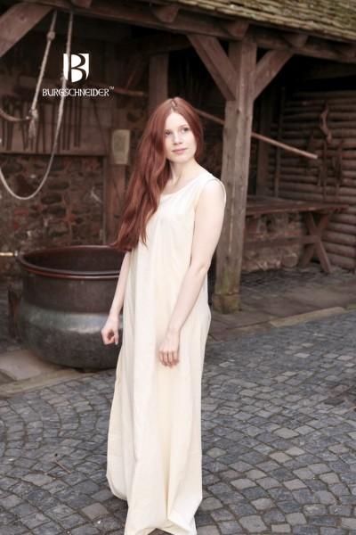Mittelalter Unterkleid Aveline - Natur