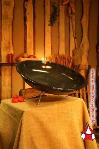 Feuerschale 58cm Durchmesser, Emaille