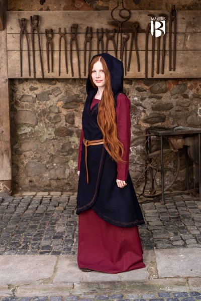 Mittelalter Wickelkleid Myrana