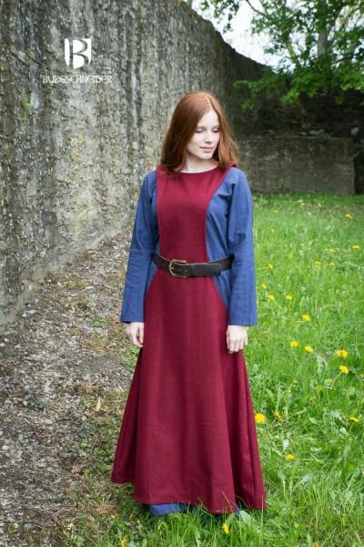 Mittelalter Überkleid Surcot Albrun
