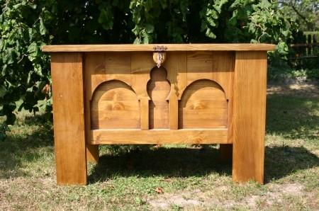 Mittelalter Holztruhe
