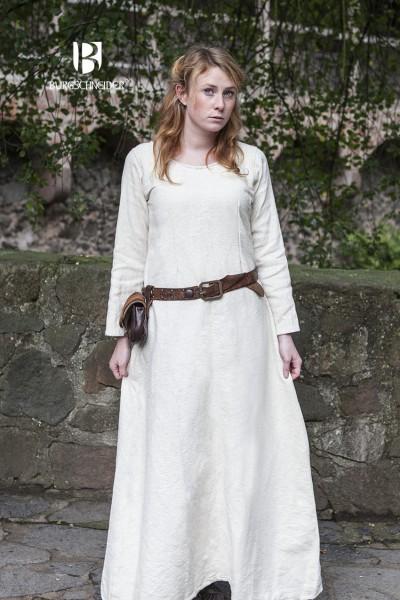 Mittelalter Winterunterkleid Thora Natur