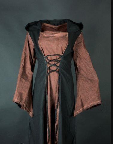 Mittelalter Gretchen Kleid