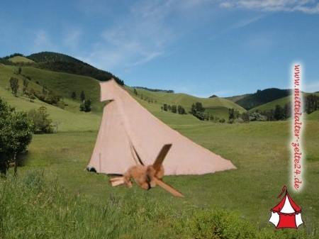 Mittelalterzelt Shelter