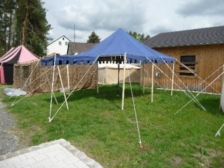 Mittelalter Zeltrahmen - Ritterzelt 4x4 Meter